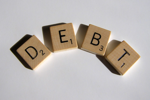 Scrabble Series Debt | by ccPixs.com