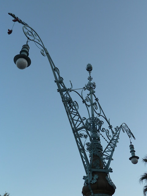 Street Lamp, Passeig Lluis Companys
