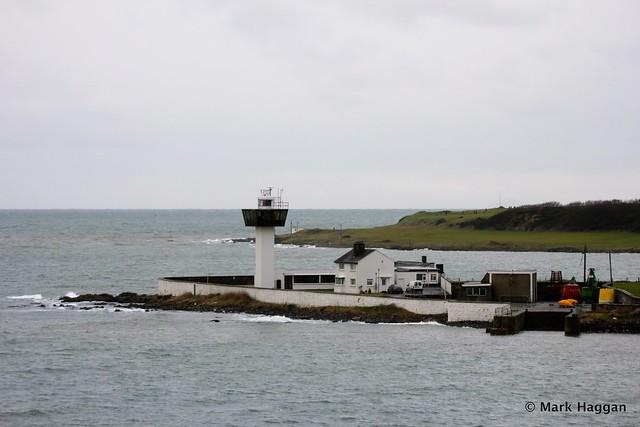 Ferris Point lighthouse, Islandmagee, near Larne
