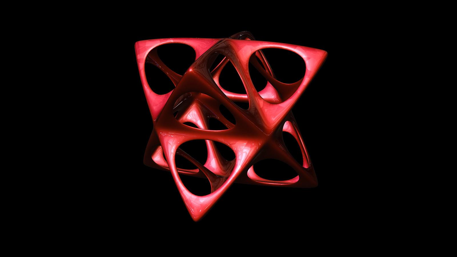 octahedron spiky soft