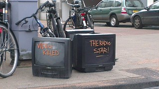 'Video killed the radio star' | by 24oranges.nl