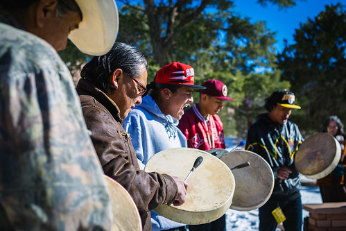 Rhythm of the Movement // #IdleNoMore #protest #flashdance #rally #rounddance | by Donovan Shortey