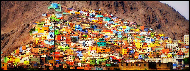 Colorful Barrio