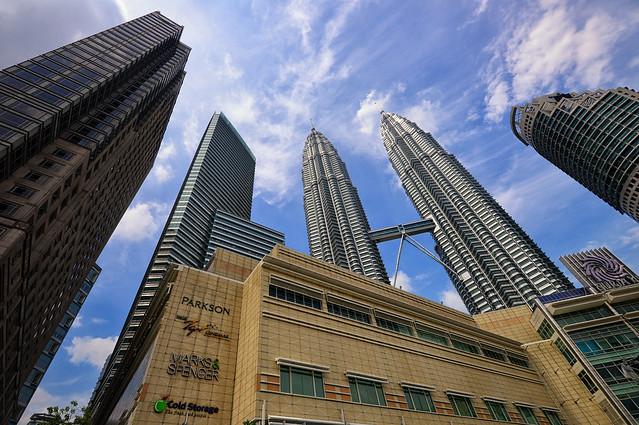 Skyscrapers in KLCC