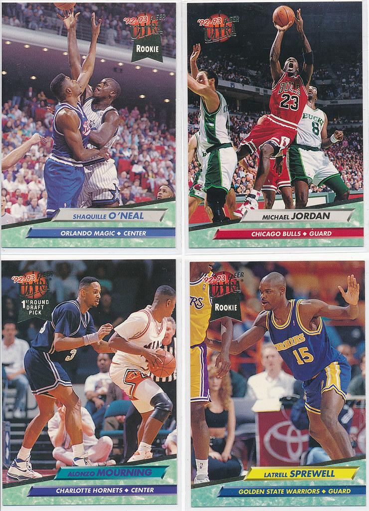 375 Card Set Of 1992 93 Fleer Ultra Basketball Cards Series 1 2