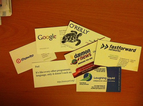Business card collection | by pdweinstein
