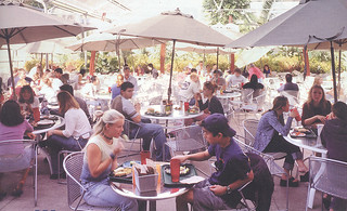 During the renovation of Frary Dining Hall in 2002, students dined in a 4,000-square-foot greenhouse located adjacent to Walker Hall.