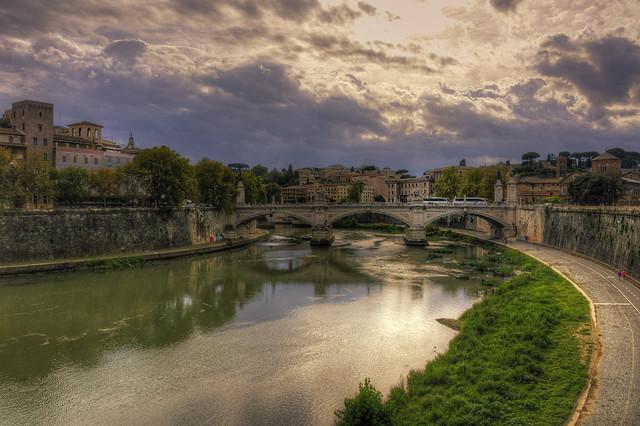 Roma n°35 - il Tevere