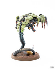 Necron Wraith with Transdimensional Beamer