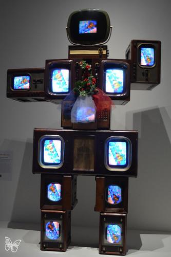 Artists & Robots - Nam June Paik | by Butterfly Art News
