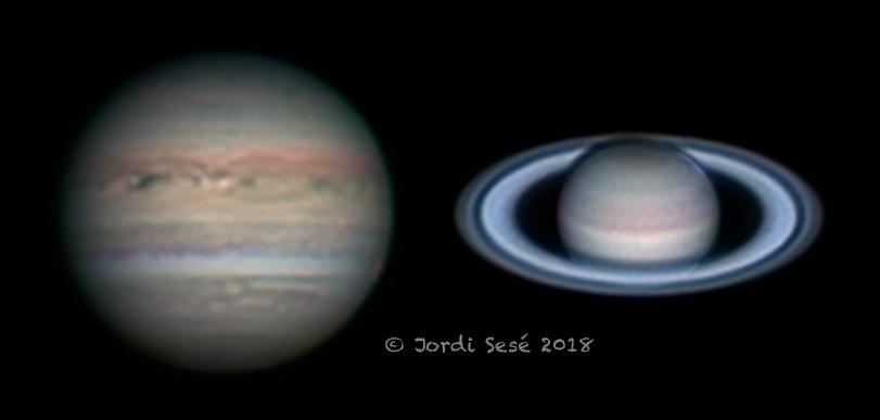 Júpiter i Saturn, Jordi Sesé