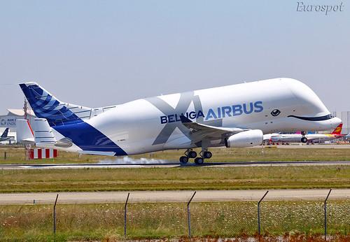 F-WBXL Airbus Beluga XL | by @Eurospot