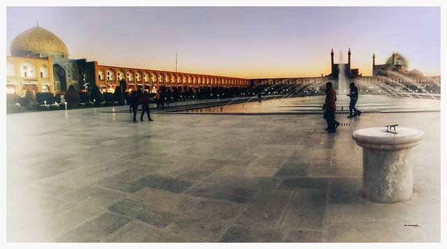 Plaza de Naqsh-e Yahán, Isfahán