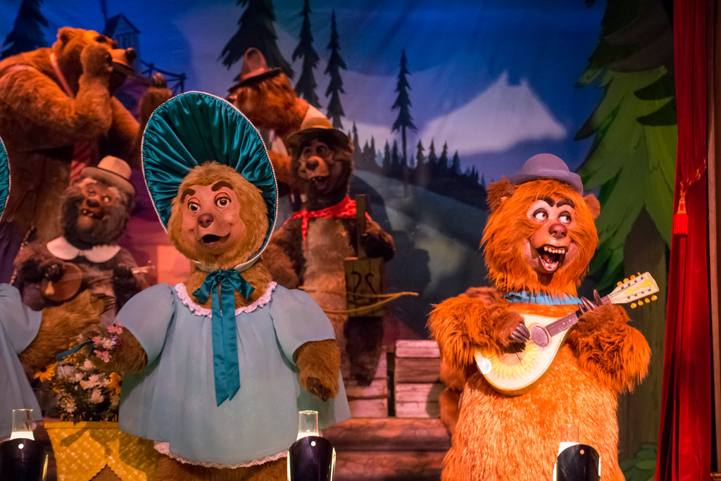 Country Bear Jamboree | The greatest show on Earth. Possibly… | Flickr