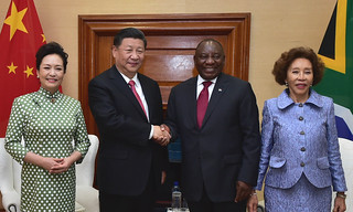 President Cyril Ramaphosa hosts President Xi Jinping of the People's Republic of China on a State Visit to South Africa | by GovernmentZA