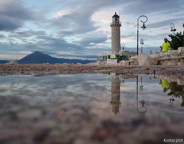 Patras city lighthouse