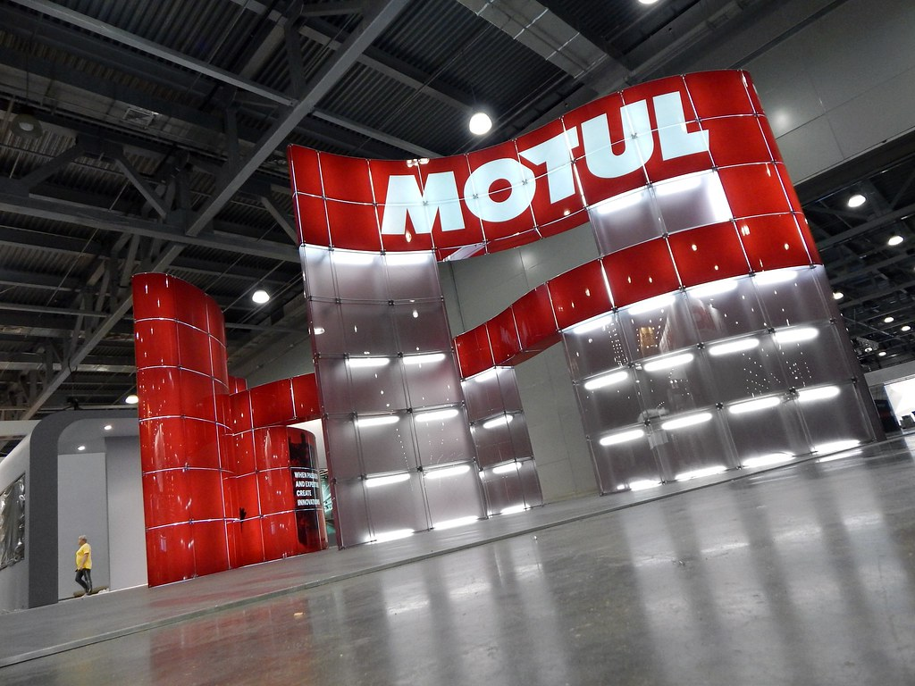 Exhibition Stand Wallpaper : Motul exhibition stand di mare check new motul stand on mu2026 flickr