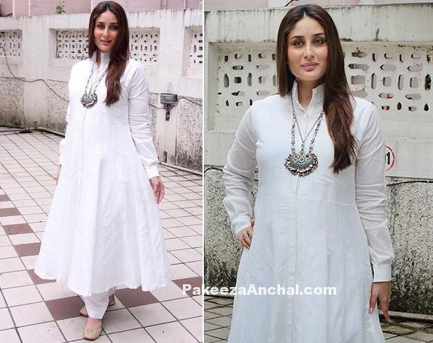 29d597c8bbea8 ... Kareena Kapoor in White Anarkali Rajesh Pratap Singh | by shaf_prince