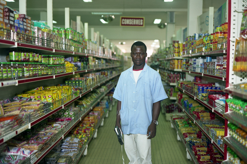 Yao, supermarket assistant, Lome, Togo