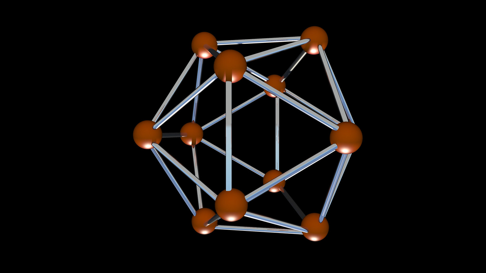 icosahedron correlaciones