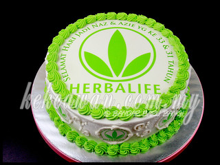 Sponge Cake for Herbalife Team! | by deheart