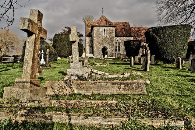 St Andrews Church West Stoke (my favourite Saxon Church)