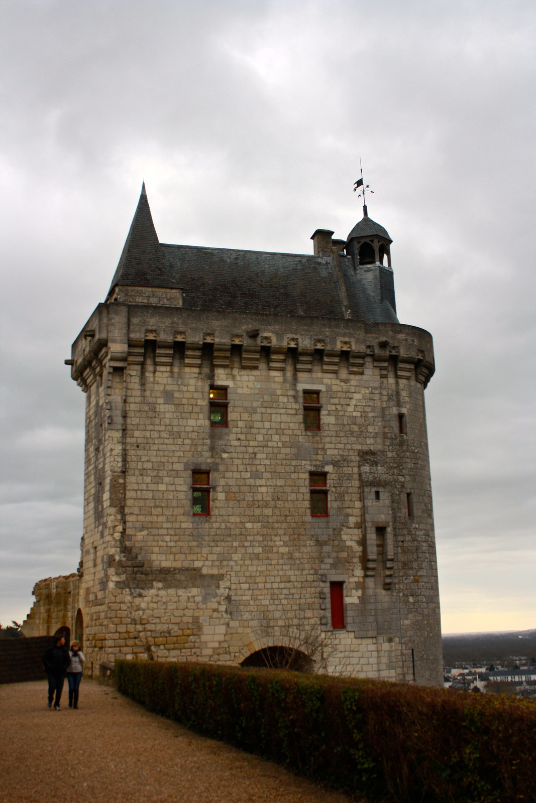 Château de Chinon, France