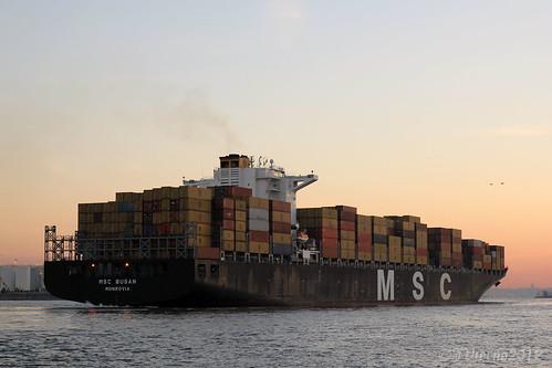 city nyc sea ny newyork water sunrise canon 50mm dawn harbor boat marine ship transport container service sailor statenisland kvk killvankull 60d