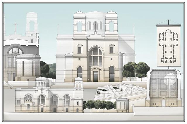 Haiti Cathedral Compeition Notre Dame de l'Assomption_Michael Mesko & Sylvester J Bartos Jr