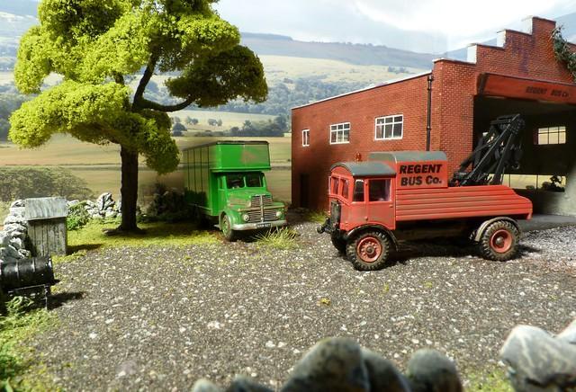 Regent Bus Co, Seaton Garage. AEC Matador Breakdown Truck