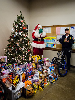 Toys for Tots and Santa | by KenWorley