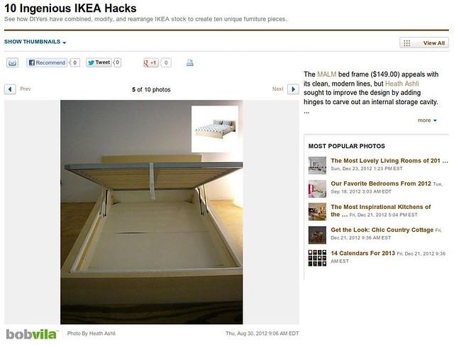 10 Ingenious IKEA Hacks #5