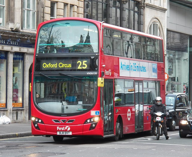 First London VN36138 (BJ11 DVT) Holborn 12/1/13