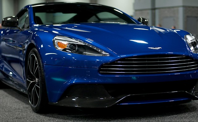 2013 Washington Auto Show - Lower Concourse - Aston Martin 1