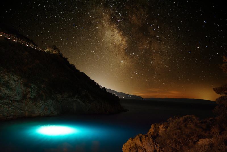 Divers under the stars (Senj)