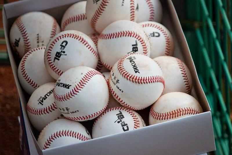 CPBL用球。(資料照)