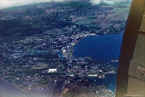 1940s hilo hawaii aerial bigisland slide