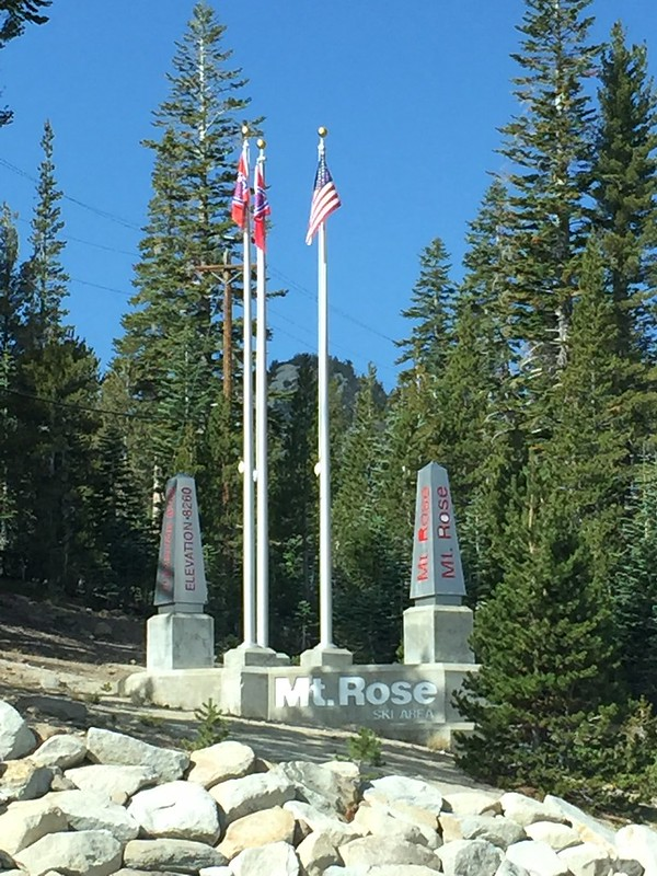 Mount Rose, Lake Tahoe