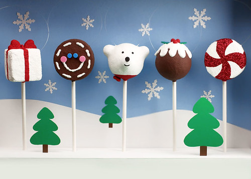 Cake Pops Holidays Ornaments | by Bakerella