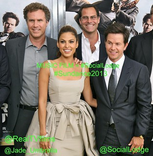 "Music   Film = #SocialLodge, Will Ferrell, Eva Mendes, Mark Wahlberg, Director Adam McKay, ""The Other Guys"" Film Premiere, New York 