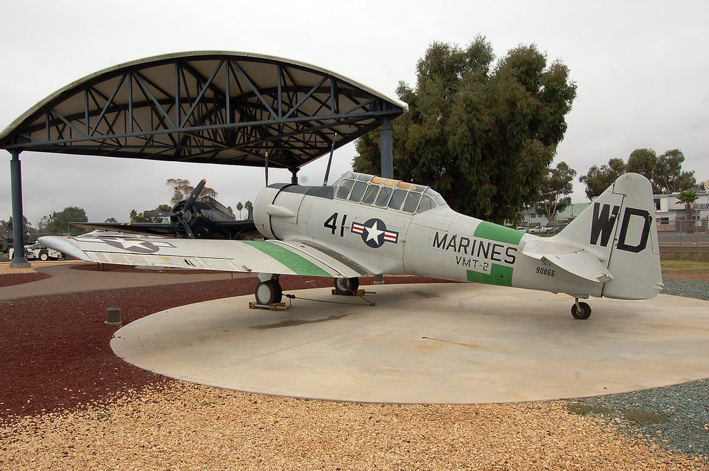 Aircraft of the Flying Leathernecks: US Marine Aviation at Miramar, California.