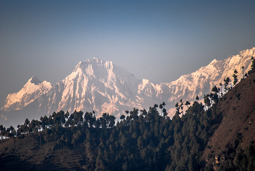 nepal mountains nature interesting view himaal bhimdhunga