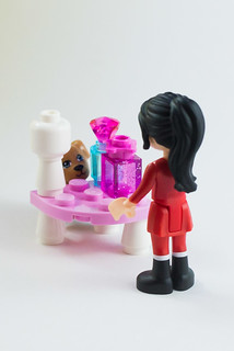 Princess is hiding. Who is that strange girl? | by The LEGO woman