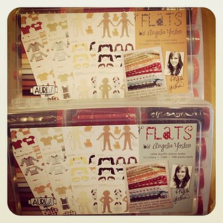 Look what just showed up at our door!!! Yippee!!! #aurifil #flats