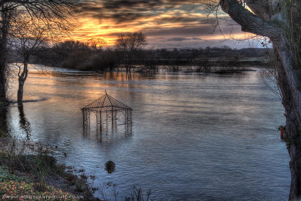 Flooded Severn