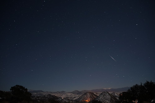 Quadrantid meteor, 5:06am | by ikewinski