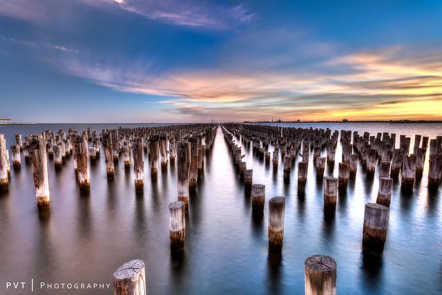 Preserved Piles of Princes Pier