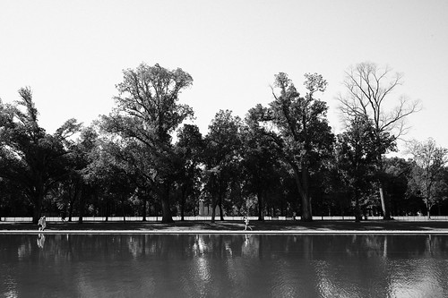 Runner, National Mall. | by Matt Benton