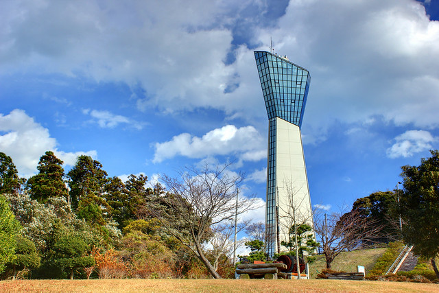 "HDR image""Marine Tower"" Iwaki City, Fukushima Prefecture"