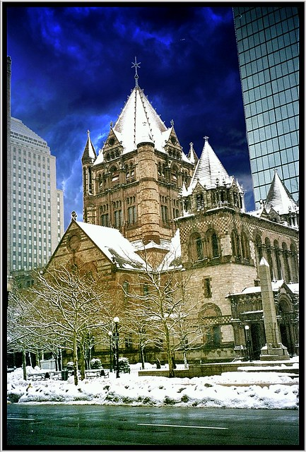 Trinity Church ~ Boston Mass ~ My Old Film